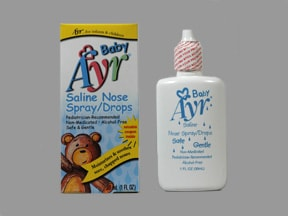 how to make saline nasal spray for babies