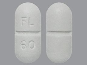 FLUOXETINE HCL 60 MG TABLET