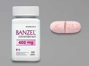 BANZEL 400 MG TABLET