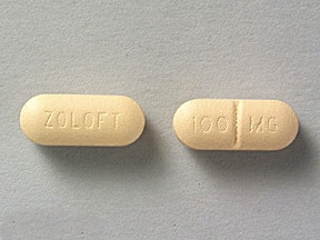 ZOLOFT 100 MG TABLET