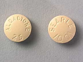 ALDACTONE 25 MG TABLET