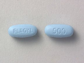 FLAGYL 500 MG TABLET