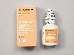 BLEPHAMIDE EYE DROPS