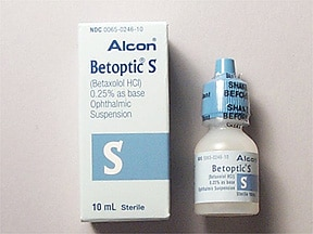BETOPTIC S 0.25% EYE DROPS