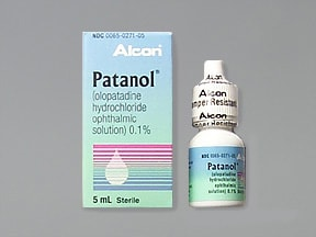 PATANOL 0.1% EYE DROPS