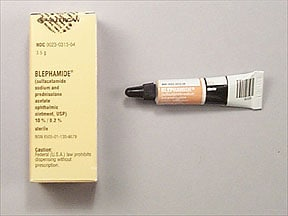 BLEPHAMIDE EYE OINTMENT