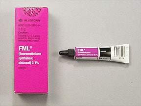 FML S.O.P. 0.1% OINTMENT