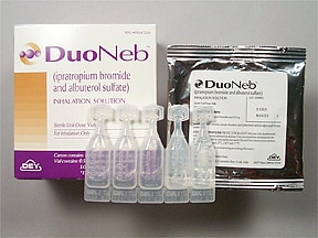 DUONEB 0.5 MG-3 MG/3 ML SOLN