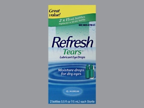 REFRESH TEARS 0.5% EYE DROPS