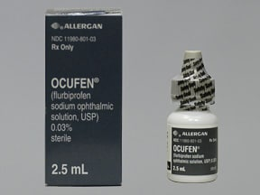 OCUFEN 0.03% EYE DROPS