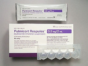 PULMICORT 0.5 MG/2 ML RESPULE