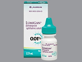 LUMIGAN 0.01% EYE DROPS