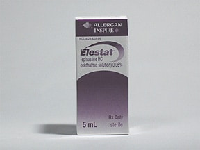 ELESTAT 0.05% EYE DROPS