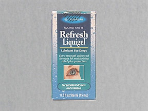 REFRESH LIQUIGEL 1% EYE DROPS