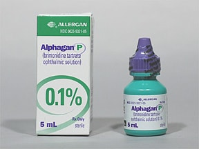ALPHAGAN P 0.1% DROPS