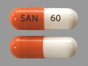 SANCTURA XR 60 MG CAPSULE
