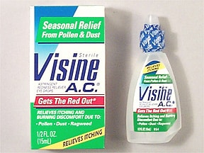 VISINE ALLERGY RELIEF DROP
