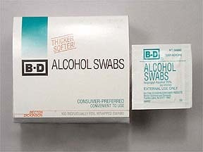 BD SINGLE USE SWAB