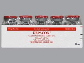 DEPACON 500 MG VIAL
