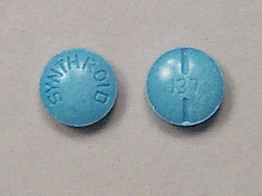 SYNTHROID 0.137 MG TABLET