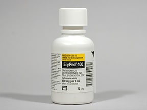 ERYPED 400 MG/5 ML SUSPENSION