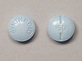 SYNTHROID 150 MCG TABLET
