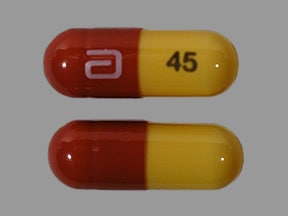 TRILIPIX DR 45 MG CAPSULE
