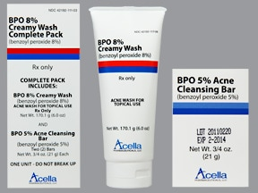 BPO 8% CREAMY WASH PACK