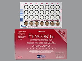 FEMCON FE CHEWABLE TABLET