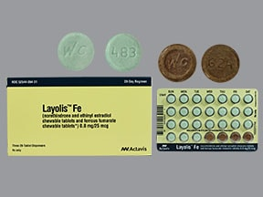 LAYOLIS FE CHEWABLE TABLET