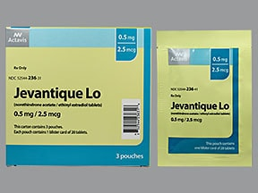 JEVANTIQUE LO 0.5 MG-2.5 MCG