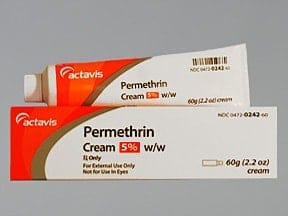 PERMETHRIN 5% CREAM