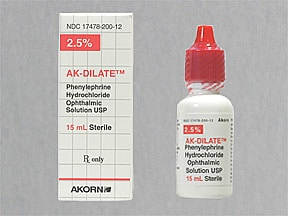 PHENYLEPHRINE 2.5% EYE DROP