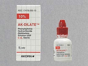 PHENYLEPHRINE 10% EYE DROPS
