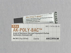 AK-POLY-BAC EYE OINTMENT