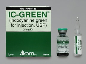 IC GREEN 25 MG VIAL