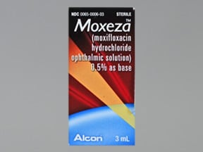 MOXEZA 0.5% EYE DROPS