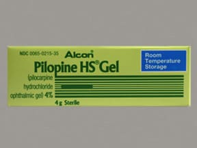 PILOPINE HS 4% EYE GEL