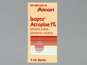 ISOPTO ATROPINE 1% EYE DROPS