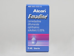 EMADINE 0.05% EYE DROPS