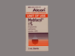 MYDRIACYL 1% EYE DROPS