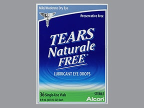 TEARS NATURALE FREE DROPS