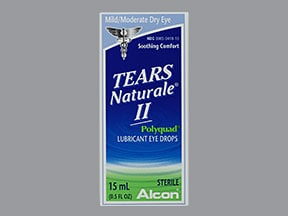 TEARS NATURALE-II EYE DROPS