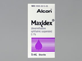 MAXIDEX 0.1% EYE DROPS