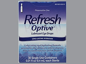 REFRESH OPTIVE SENSITIVE DROPS