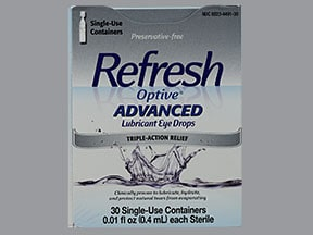 REFRESH OPTIVE ADVANCED DROPS