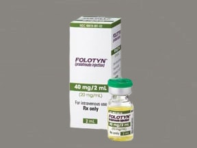 Folotyn intravenous : Uses, Side Effects, Interactions