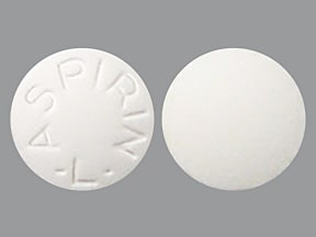 CVS ASPIRIN 325 MG TABLET