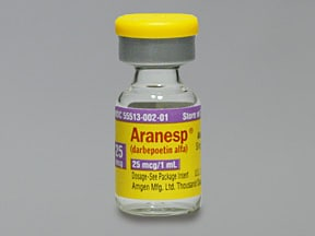 ARANESP 25 MCG/ML VIAL