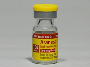 ARANESP 100 MCG/ML VIAL